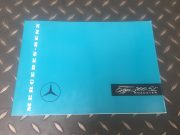 Original Mercedes 300 SL Roadster  publicity brochure in German 7 pages, as new, 31 x 21.8 cm, ask for price