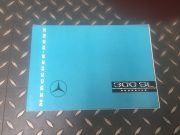 Original Mercedes 300 SL roadster publicity brochure in French 7 pages, as new, 31 x 21.8 cm, ask for price.