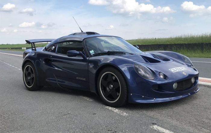 Surprising Lotus Exige S1 Cobalt Blue .190 HP
