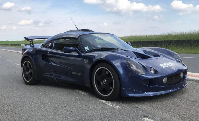 Surprising Lotus Exige S1 Cobalt Blue .190 HP