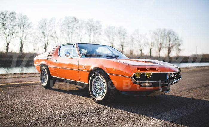 Icon of the 70'S the Magic Alfa Romeo Montréal.