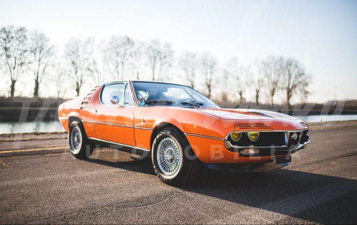 Icône of the 70'S Alfa Romeo Montréal.