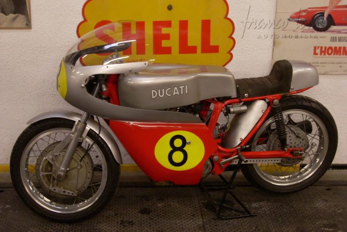 splendid and original Ducati 450 Competizione 1970