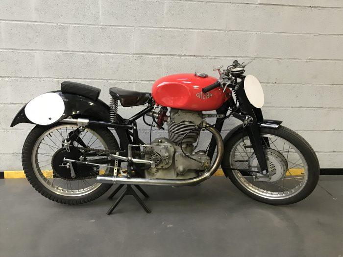 Rare Gilera 500 Competizione San Remo 1947