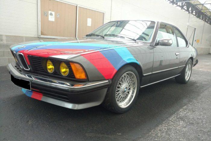 BMW 635 CSi E 24 group 1, 1979