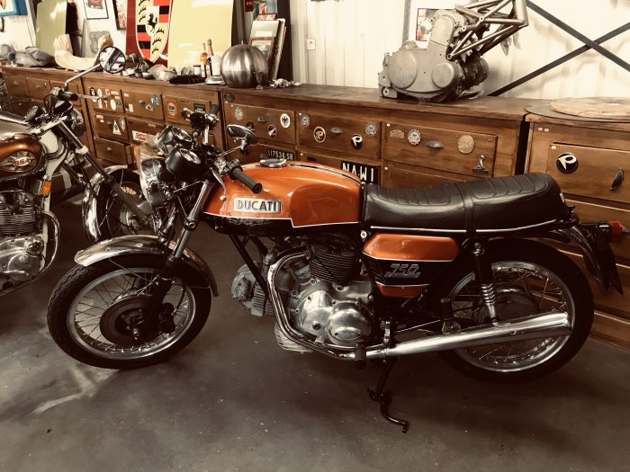 Ducati  750 GT Matching numbers .1973
