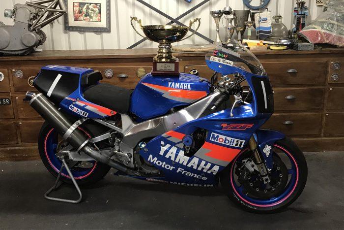 Yamaha YZF 750 SP Factory, Bol d'or winner 1994 with Sarron / Sarron / Nagaï