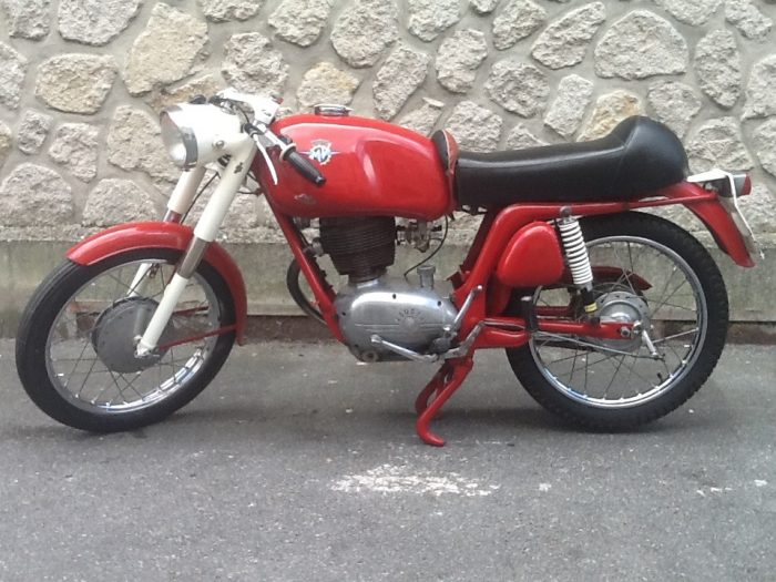 Rare MV Agusta 150 RS  1961   Matching numbers