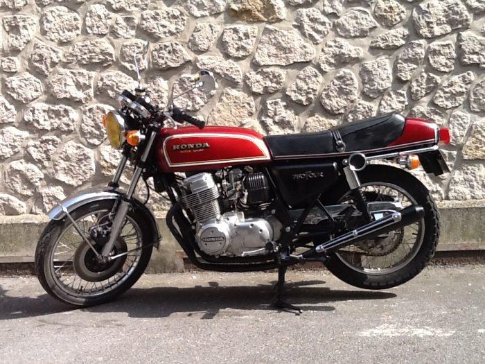 Superbe Honda CB 750 F 1976.