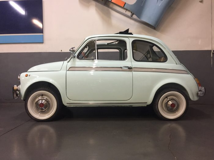 Incredible and Rare Fiat 500 S by Moretti 1966.
