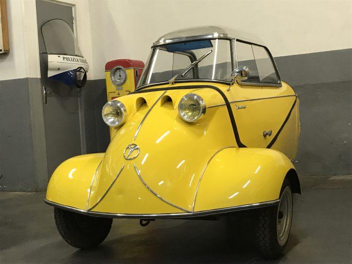 Messerschmitt KR 200 from 1957, fully restored, same owner since 1991.