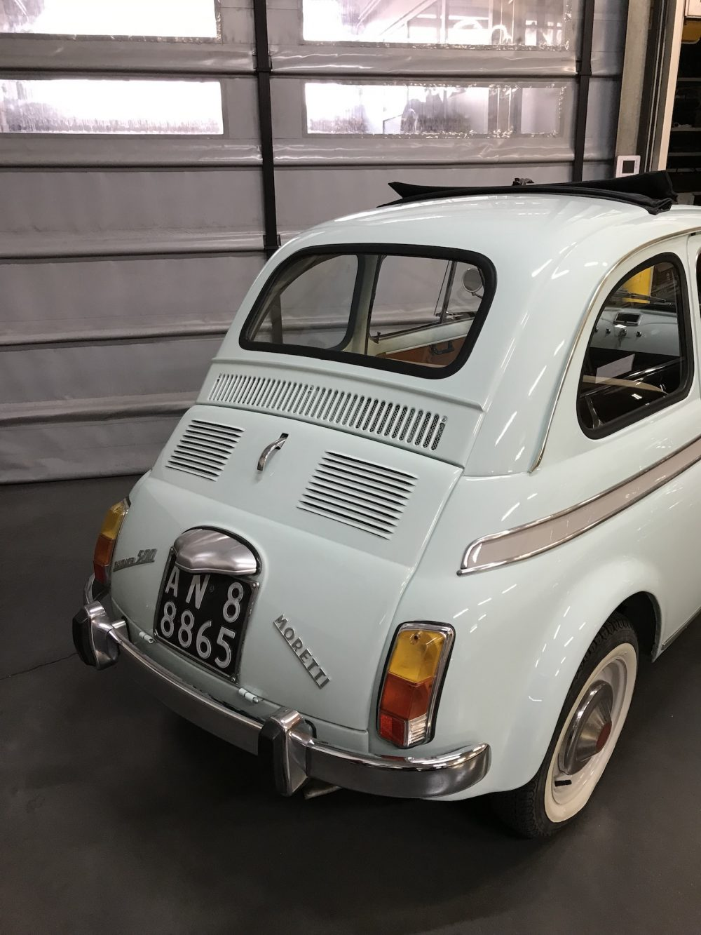 Incredible And Rare Fiat 500 S By Moretti 1966 Franco Lembo
