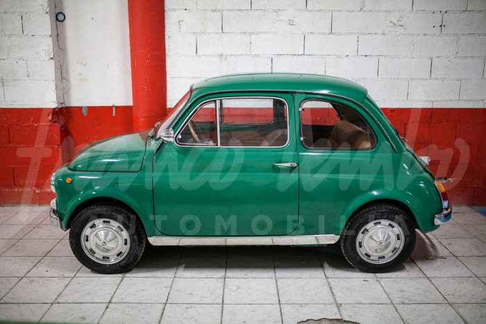 Original and unusual Fiat 500 My Car by Francis Lombardi 1968