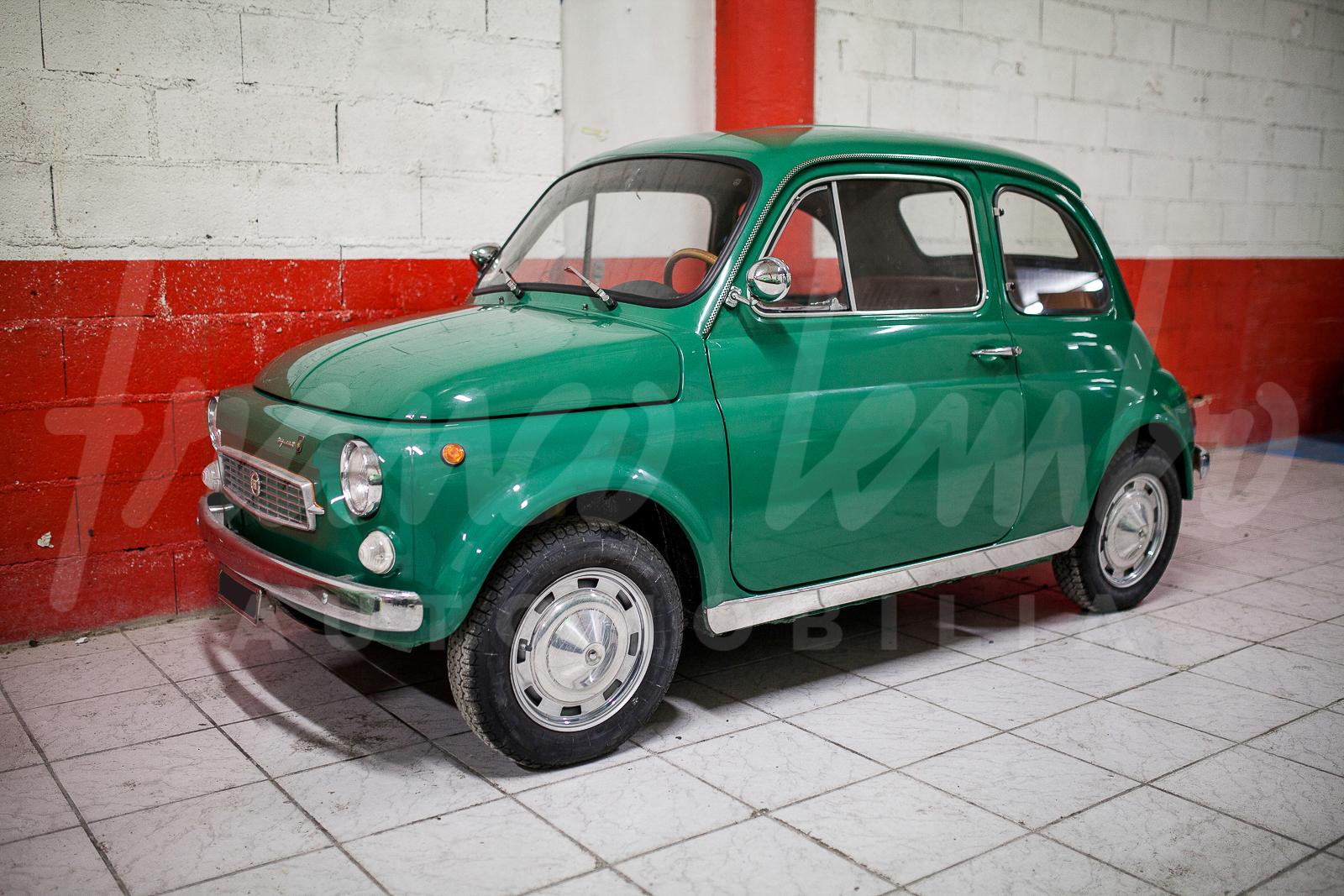 Original And Unusual Fiat 500 My Car By Francis Lombardi 1968