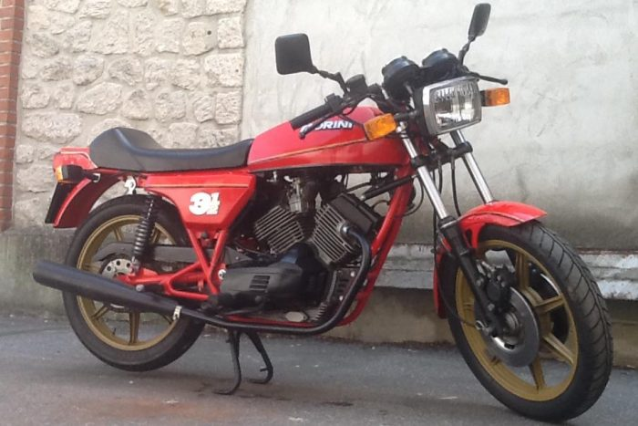 Elegant and rare Morini 3½ .1981