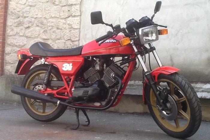 Elégante et rare  Morini 3½  .1981