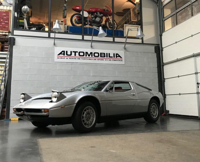 Maserati Merak SS 3.0 V6 1978. Only 652 built.