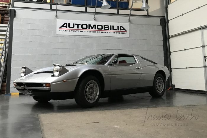 Maserati Merak SS 3.0 V6. 1978. Seulement 652 exemplaires construits.
