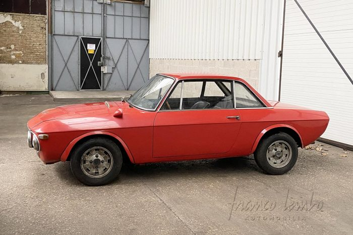 Lancia Fulvia 1600 HF Fanalone Lusso 1971, the rally queen, Matching Numbers, to be restored