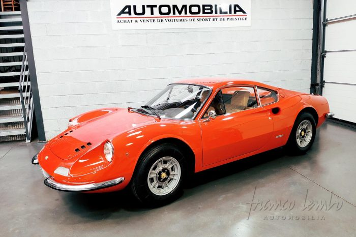 Dino 246 GT-M 1971, Rosso Dino, Matching Numbers