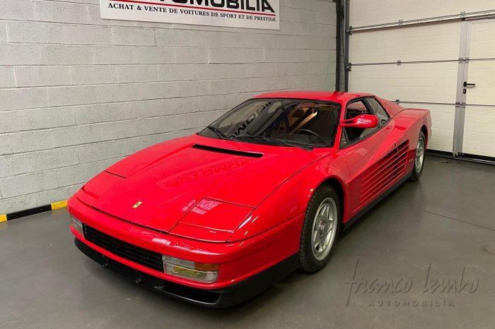 Ferrari Testarossa monospecchio monodado 1985, 49000 km, état concours
