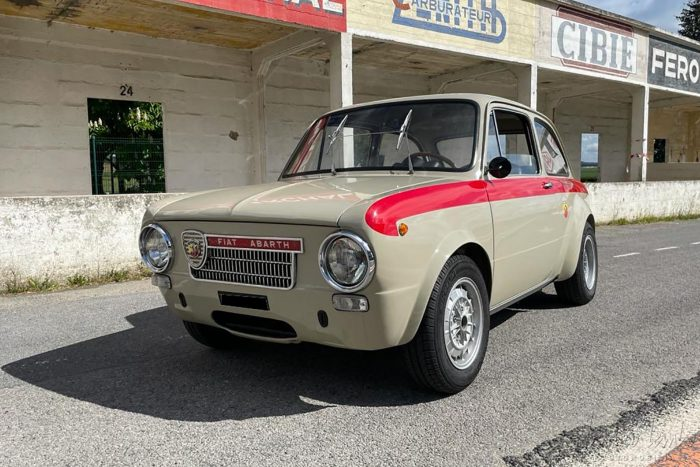 Fiat Abarth 1600 OT 1965, tipo 102 B, factory car, Matching Numbers, one owner from new.