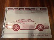 Porsche 959 service book Italian