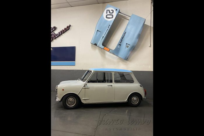 Mini Minor Innocenti 850 MK2 1969, seulement 2 propriétaires, jamais restaurée