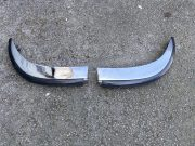 Lancia Fulvia Zagato, pair of rear chromed bumpers with rubber