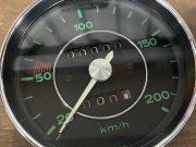 Porsche 356 A / B / C speedometer inspected and restored