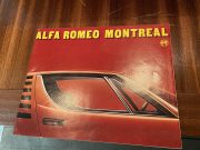 Alfa Roméo Montréal advertising brochure explication and pictures in German