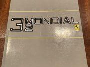 Ferrari 3.2 Mondial /Mondial cabriolet 1985 original owner's manual