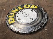 Dunlop Tyres / ATO enamel clock plate 1927 /28