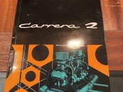 Porsche 356 Carrera 2 1963, Original owner's manual in German