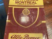 Alfa Roméo Montréal, must have conduite et entretien in French