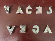 Facel Vega lettres chromées d'origine