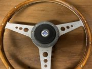 Alfa Roméo Moto Lita Wood steering wheel