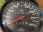 Porsche 959 VDO electronic 340 km/h Speedometer