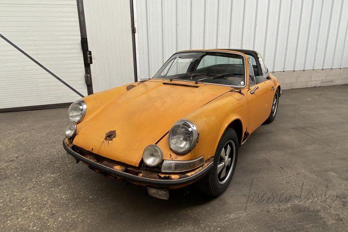 Porsche 911 Targa 2.2 S 1969, Matching Numbers, Signal Yellow