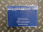 Porsche 911 Turbo /Carrera 1986 Betriebsanleitung