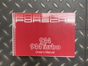 Porsche 944 /944 Turbo 1985 driver's manual