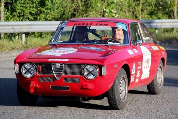 Alfa Romeo Giulia 1300 Junior 1968, Objectif Tour Auto 2017