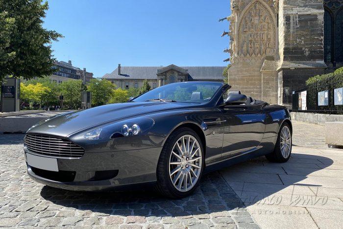 Aston Martin DB9 Volante de 2007, française d'origine, 23 530 km