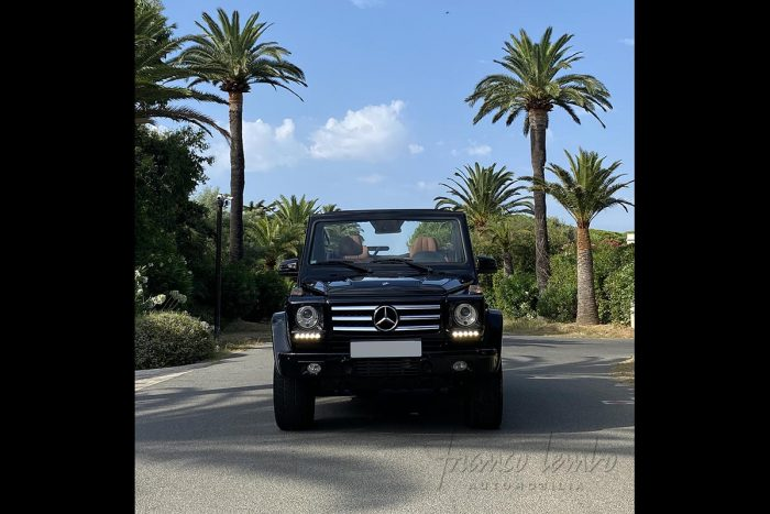Mercedes G-Class 500 convertible 2013, only 13 000 km, the sea side icon
