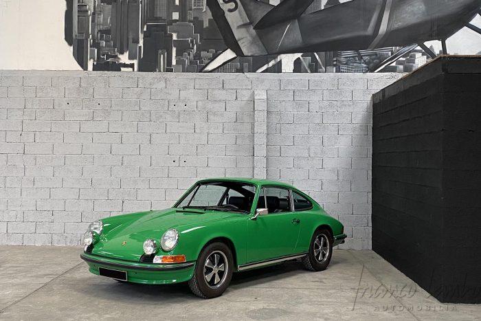 Porsche 911 2.4 S Viper Green 1972