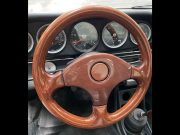 Porsche 911 circa 1980 – wood steering wheel