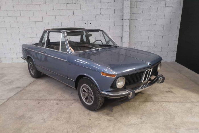 BMW 2002 Baur-Cabriolet E10 1973