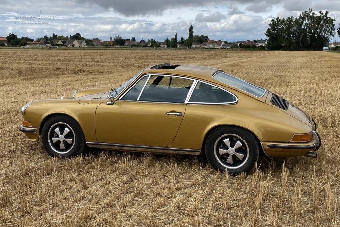 Porsche 2.4 S Oil Klappe 1971