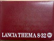Lancia Thema 8/32 User manual in French