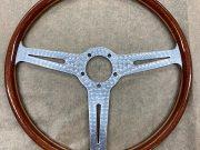 Les Leston original 70's corked aluminium steering wheel